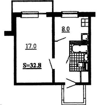 Типовые планировки квартир.